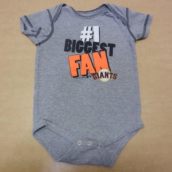 80518520 MLB One Pieces | San Francisco Giants Boys One Piece Baby Outfit ...